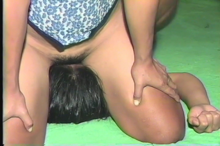 Asian women nude wrestling